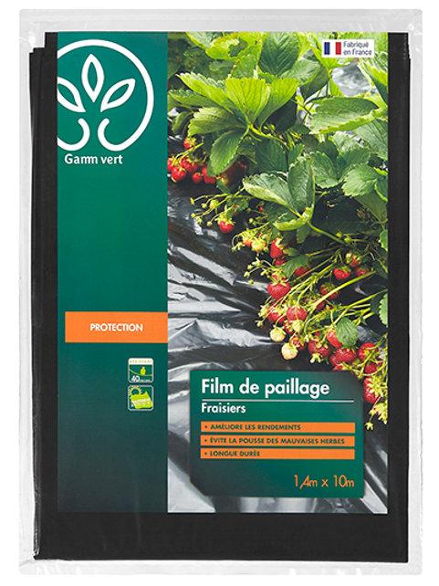 Film paillage fraisiers 10x1.40m gv (ref : w78775)