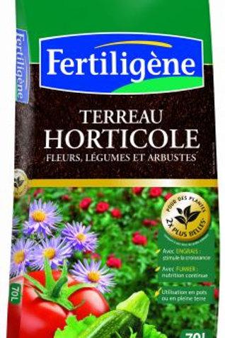 Terreau horticole 70l fertiligène (ref : 481047)