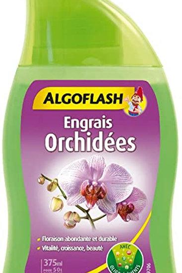 Engrais orchidées 250ml algoflash (Ref : T01807)