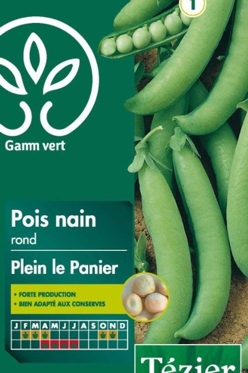 Graine pois plein le panier 200g s.1 Gamm Vert (ref : w36138)