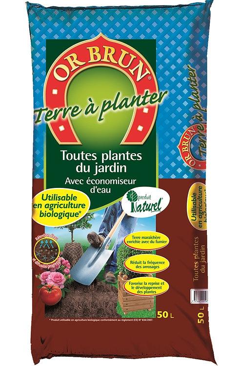 Terre à planter 50l (ref : w03271)