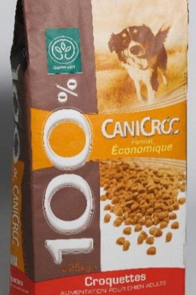 Canicaf canicroc 25kg Gamm Vert (ref : w21675)