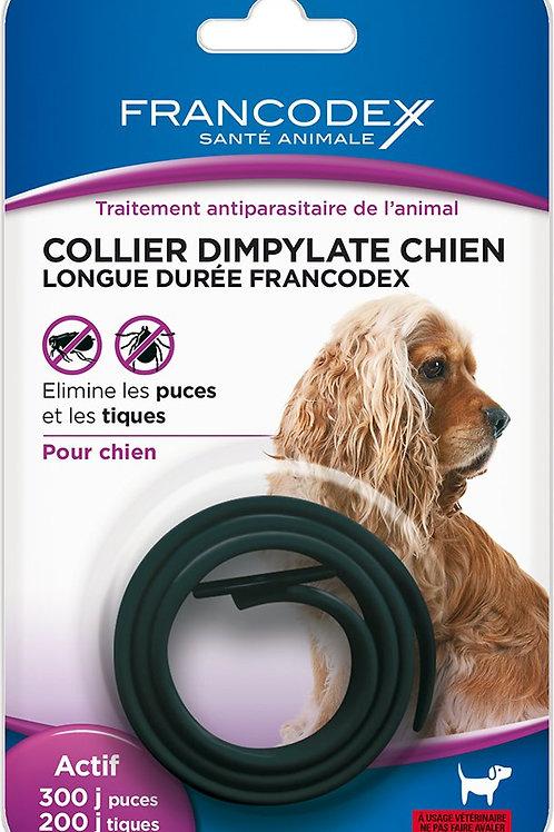 Collier 200 jours chien noir (ref : 442852)