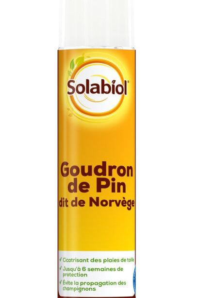 Goudron de pin aerosol 200ml solabiol (ref : w73525)