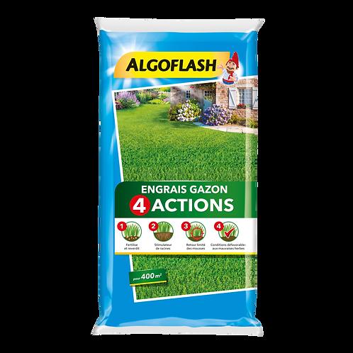 Engrais gazon 4 actions 24kg algoflash (Ref : X82609)