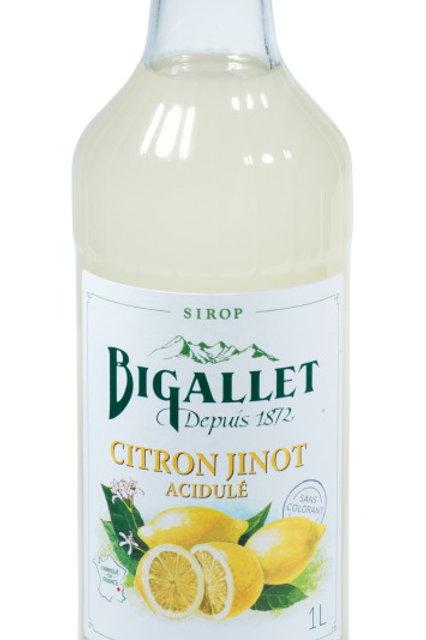 Sirop jinot citron 1l bigallet (Ref : 697380)