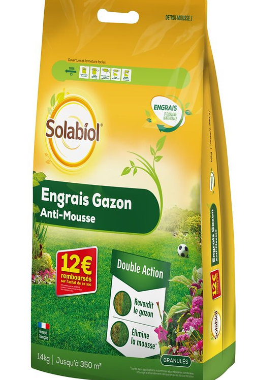 Engrais anti mousse 14kg solabiol (ref : x88839)