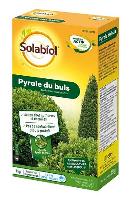 Traitement insecticide pyrale du buis 15g solabiol (ref : x75151)