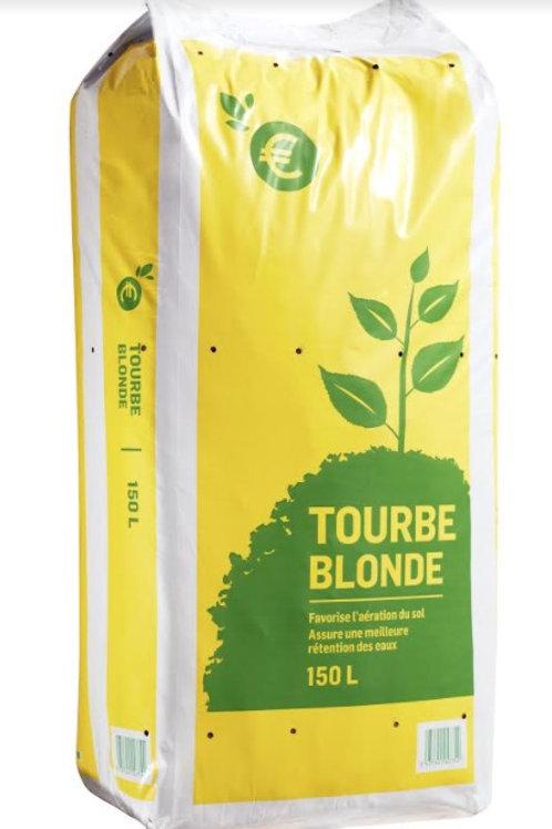 Tourbe blonde 150l 1er prix (ref : w17463)