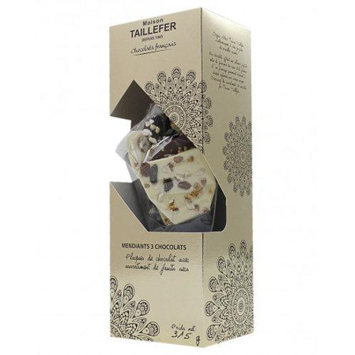 Chocolat mendiant cornet 315g (ref : w51708)