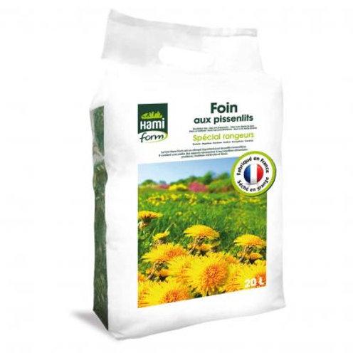 Foin premium pissenlit 20l (ref : w24941)
