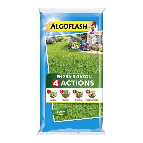 Engrais gazon 4 actions 16kg algoflash (Ref : X82608)