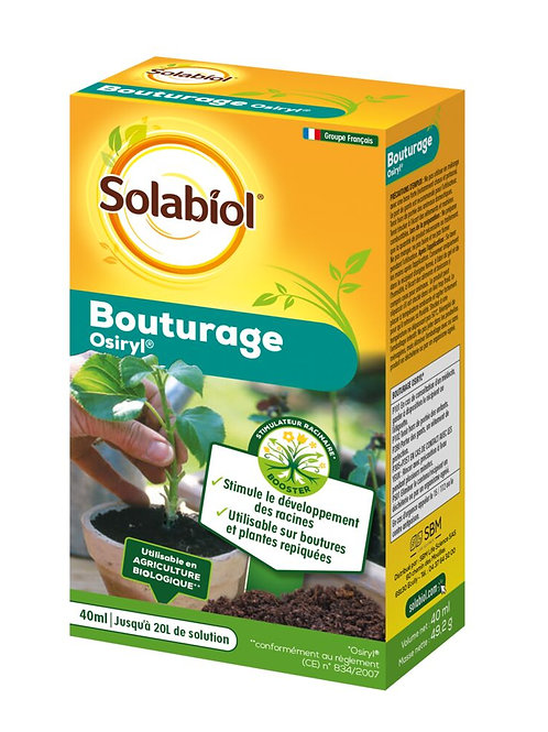 Hormone de bouturage 40ml solabiol (ref : x68770)