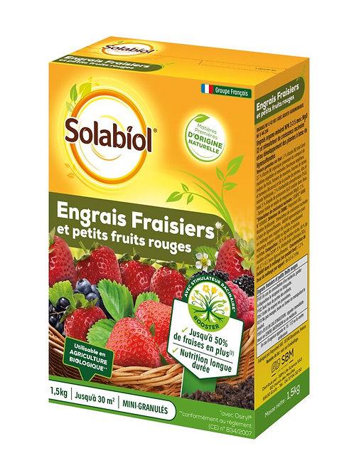Engrais fraisiers 1.5kg solabiol (ref : w78880)