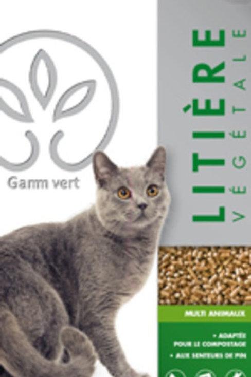 Litière végétale 10l Gamm Vert (ref : w28869)