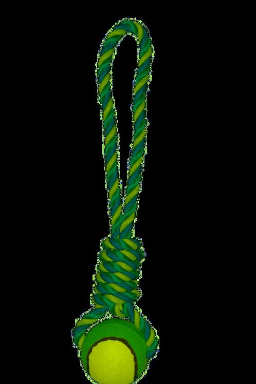 Jouet corde avec balle de tennis (ref : 377785)