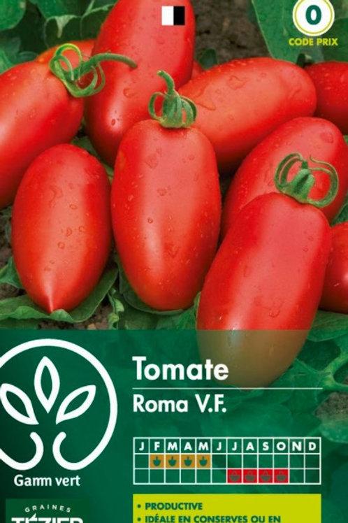 Graine tomate roma vf s.0 Gamm Vert (ref : w73648)
