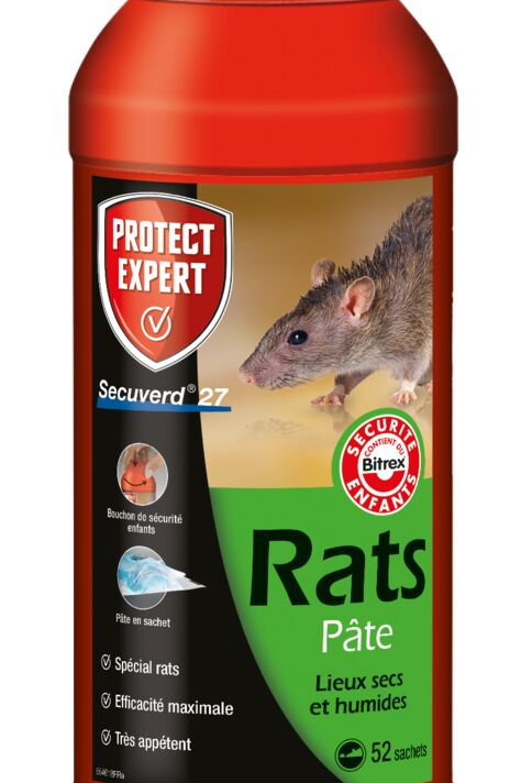 Raticide pate 520g protect expert (ref : x85697)