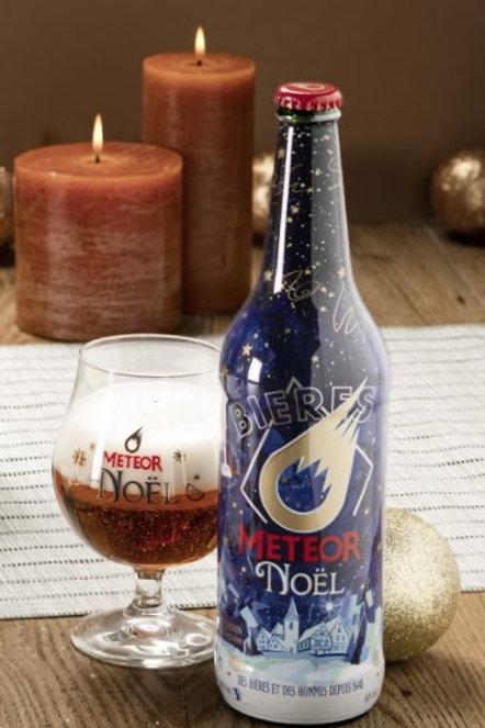 Bière noël météor 65cl (ref : x57801)