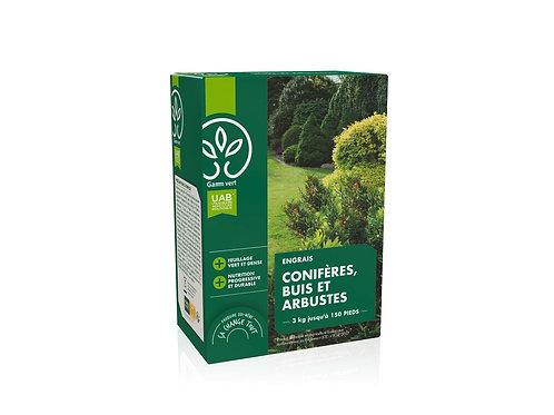 Engrais coniferes et haies UAB 3kg Gamm Vert (ref : x82769)