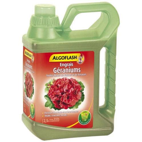 Engrais géraniums 2.5l algoflash (Ref : T01787)