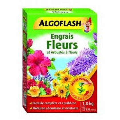 Engrais fleurs et arbustes à fleurs prolongée 1.8kg algoflash (Ref : W16812)