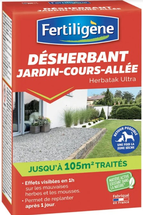 Desherbant concentre 250ml Fertiligène (ref : x71730)