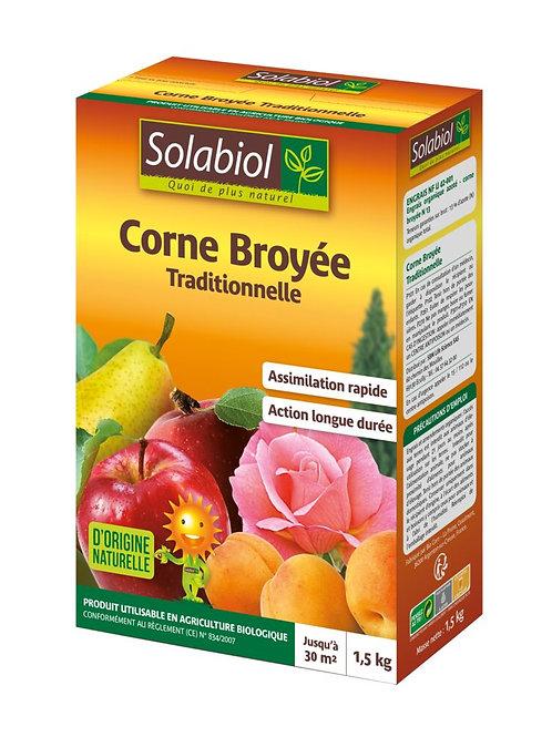 Corne broyee bio 1.5kg solabiol (ref : w00694)