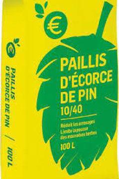 Paillis écorces de pin 100l (ref : w75681)