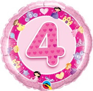 18in Age 4 Pink Princess 26306