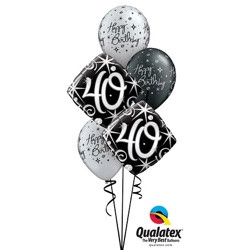 Classic Bouquet 40th Birthday $22.95