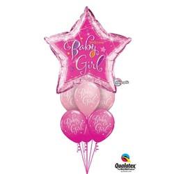 Giant Luxury Shape Star Baby Girl $49.95
