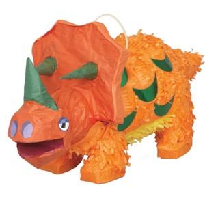 Orange Dino Piñata