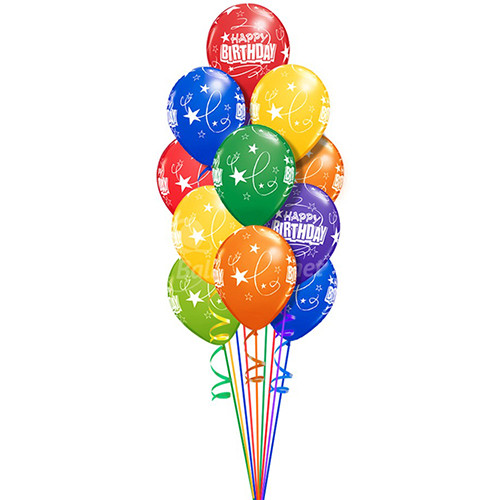 Helium Solid Latex Balloons - $2.25 each