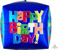 15in Birthday Cube 28222