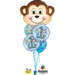 Happy 1st Birthday Monkey $39.95