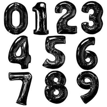 Number-Black-Balloon-Birthday-Party-Whol