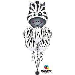 Zany Zebra Luxury Shape $37.95