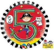 18in Age 5 Rachel Ellen Pirate 24160