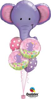 Latex Elephant Baby Girl $39.95