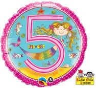 18in Age 5 Rachel Ellen Mermaid 24146