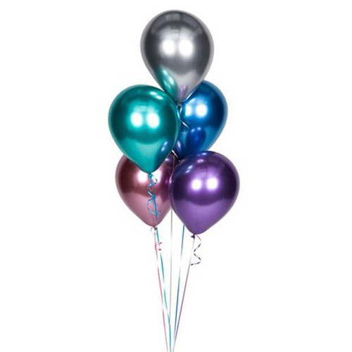 Helium Chrome Latex Balloons - $2.50