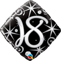18in Age 18 Sparkles & Swirls 29993