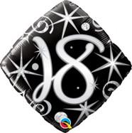 18in Age 18 Sparkles & Swirls 29993