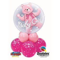 Baby Girl Bear Double Bubble Super Table $33.95