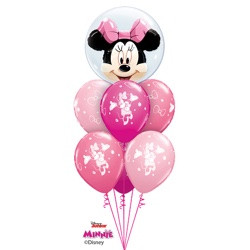 Minnie Mouse Pink Luxury Double Bubble 49.95