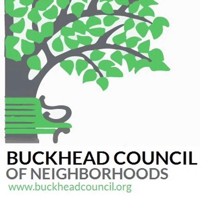 Cityhood presentation to Buckhead Council  of Neighborhoods