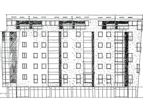 Višestambena zgrada Brezje