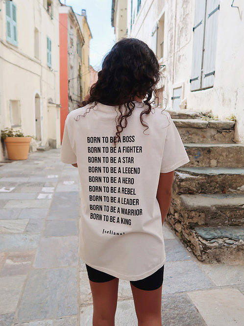 """T-shirt """"Born to be"""""""