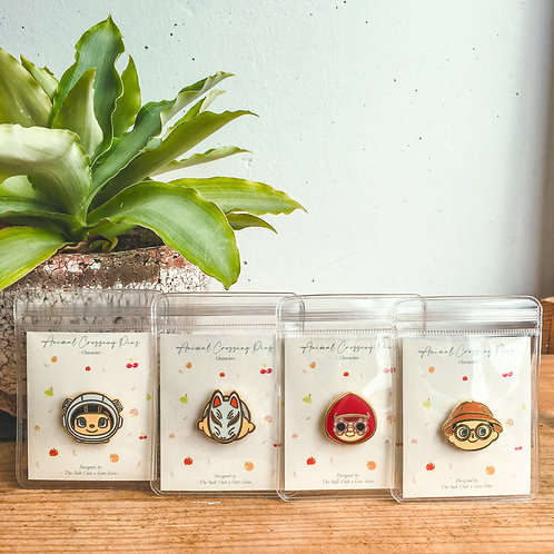 The Wild Abandon - Animal Crossing Pins